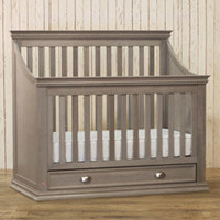 Franklin & Ben Mason Weathered Gray 4-in-1 Convertible Crib