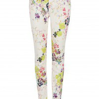 Summer Bloom printed jean - ELEANO - Ted Baker