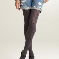Polka-dot tights - J.Crew