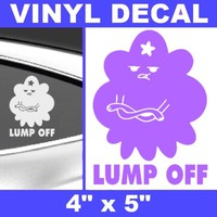 Lumpy Space Princess VINYL STICKER CAR DECALS Adventure Time Jake Finn shirt hat