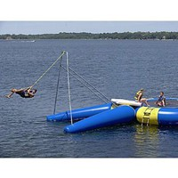 Amazon.com: Rave Rope Swing (180 X 171 X 161-Inch, Yellow/Blue): Sports & Outdoors