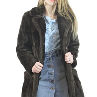 The Pulp Girls — CHELSEA HOTEL FAUX FUR COAT