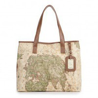 World Map Shoulder Bags - Travel the Whole World