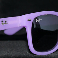 Rayban Wayfarer RB2140 Sunglasses Purple Ray ban from Sunglasses For All