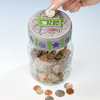Counting Money Jar - Harriet Carter - Household Helpers &gt; Home Office