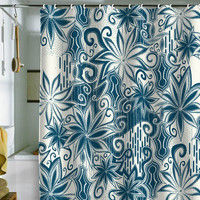 Khristian A Howell Moroccan Mirage 1 Shower Curtain