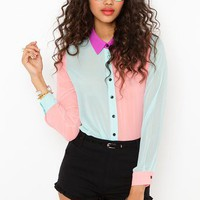 Sugar High Blouse in What&#x27;s New at Nasty Gal