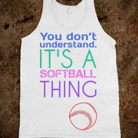 softball thing - The Tankest Tops