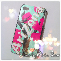 Green Tea Cherry Blossom Case