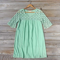 Free Spirit Dress in Sage, Sweet Women's Bohemian Dresses