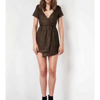 KEEPSAKE Beautiful Lies Dress BLACK/GOLD