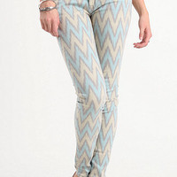 Bullhead Black Tribal Ziggo Skinniest Jeans at PacSun.com