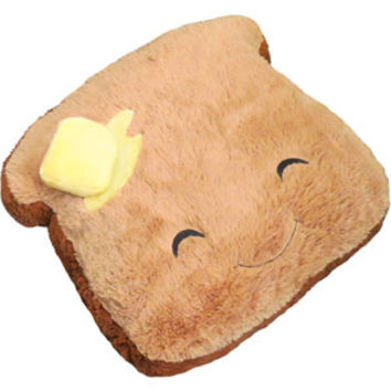 Comfort Food Toast: An Adorable Fuzzy Plush to Snurfle and Squeeze!
