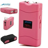 Amazon.com: THE SPY SPOT - 7.8 Million Volt Rechargeable Stun Gun w/Built-in LED Flashlight & Holster: Sports & Outdoors