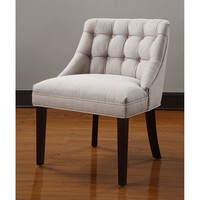 Belmont Tufted Back Chair | Overstock.com