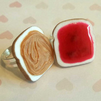 valentine's day polymer clay strawberry jam by ScrumptiousDoodle