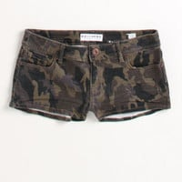 Bullhead Camo Print Clean Hem Shorts at PacSun.com