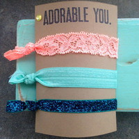 Hair Ties  from Peach Fizz Designs