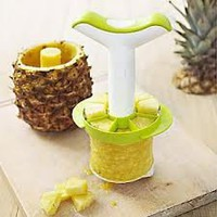 Stainless Pineapple Slicer with Wedger