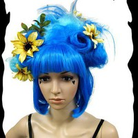 Blue Hawaiian Dreams Wig by Hair Nurse Lana by CrudeThings