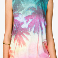 Tropical Palm Tree Muscle Tee | FOREVER 21 - 2049256911