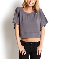 ideeli | TART Essential Cropped Sweatshirt