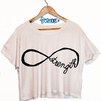 infinite strength crop top | fresh-tops.com