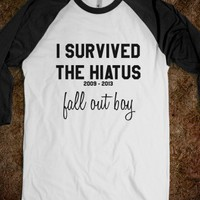 I Survived the Fall Out Boy Hiatus - Baseball Tee