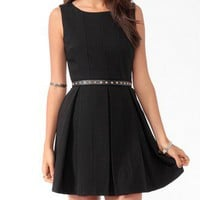 Box Pleated Dress | FOREVER 21 - 2025100932