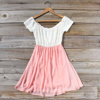 Luna Dress in Peony, Sweet Women&#x27;s Bohemian Dresses