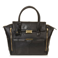 Winged Pushlock Tote - Bags &amp; Purses - Bags &amp; Accessories - Topshop