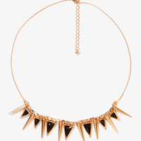 Triangles and Spikes Necklace | FOREVER21 - 1030186041