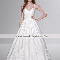 Beach Wedding Dresses-Style BC416