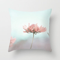 Pastel Dreams Throw Pillow by Bree Madden