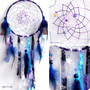 Cosmic Galaxy Native Woven Dreamcatcher