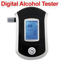 Digital LCD Alcohol Breathalyzer free shipping