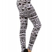 High Waisted Aztec LeggingsPurchase