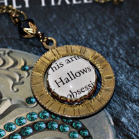 Harry Potter Time Turner Spinning Hallows by PageFromMyBook
