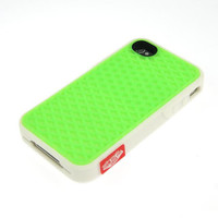 Vans Waffle Sole Back Case Cover For i Phone 4 4G 4S Green