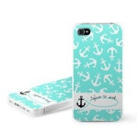 Refuse to Sink Design Snap on Hard Case Faceplate Cover for Apple iPhone 4 / 4S 16GB 32GB 64GB: Cell Phones &amp; Accessories