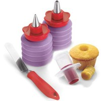 Cuisipro Cupcake Corer and Decorating Set: Kitchen & Dining