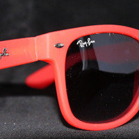 Rayban Wayfarer RB2140 Sunglasses Red Ray ban New