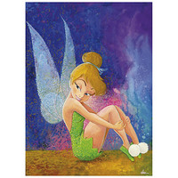 Disney ''Tink Sitting'' Tinker Bell Giclée by Randy Noble | Disney Store