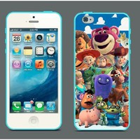 Amazon.com: Toy Story iPhone 5 Case Hard Plastic Blue Case Andy Woody Buzz Lightyear Pixar 207: Everything Else