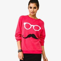 French Terry Mustache Pullover