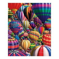Amazon.com: Hot Air Balloons 1000 PC Jigsaw Puzzle by White Mountain: Toys & Games