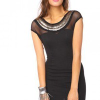 Metal 'n' Mesh Dress | NASTY GAL