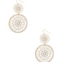 Tiered Enameled Earrings | FOREVER21 - 1000037468