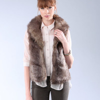 Jack by BB Dakota faux fur vest  Jack by BB Dakota medium by Aziza Gil