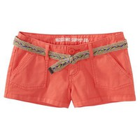 Mossimo Supply Co. Juniors Shorts with Belt - Assorted Colors